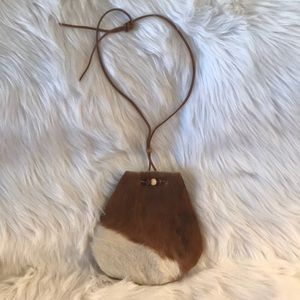 Handbags - 💯% Authentic Hair on Hide Medicine Bag